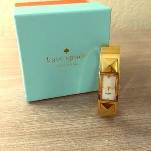 Kate Spade Gold Bangle Watch